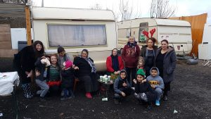 Noël sur le bidonville de Cergy