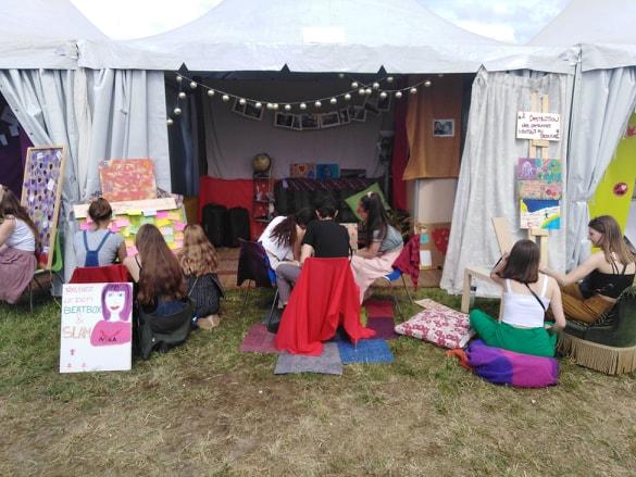 ACINA à Solidays pour la deuxième année consécutive